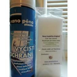 NANOPĚNA Plastic + Nanohoubička SET